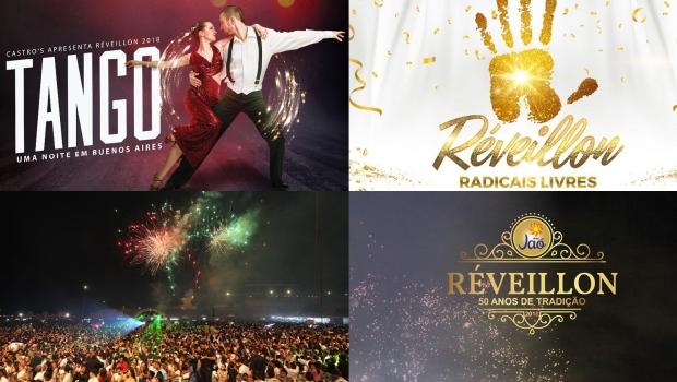 Não vai viajar? Veja lista de festas de Réveillon para quem vai passar a virada em Goiânia
