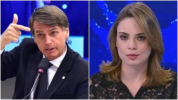 "Rachel Sheherazade descarta seguidores de Bolsonaro e eles se tornam seus ""haters"""