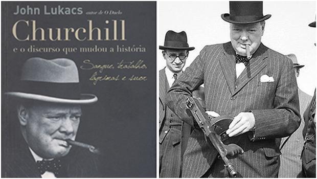 Churchill é o político que fez a Europa sair do chão para enfrentar e derrotar a Alemanha de Hitler