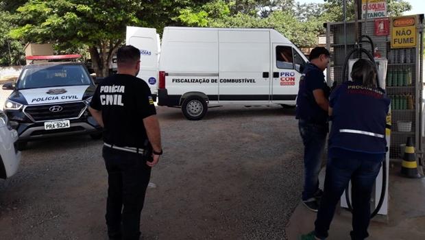 Procon Goiás intensifica fiscalização em postos de combustível nesta quinta-feira em Goiânia