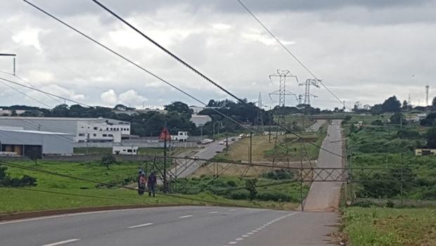 Acidentes na BR-153 deixam trânsito congestionado no sentido de Goiânia para Aparecida