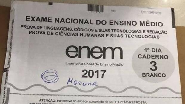 PF investiga caso de plágio em redação do Enem 2017