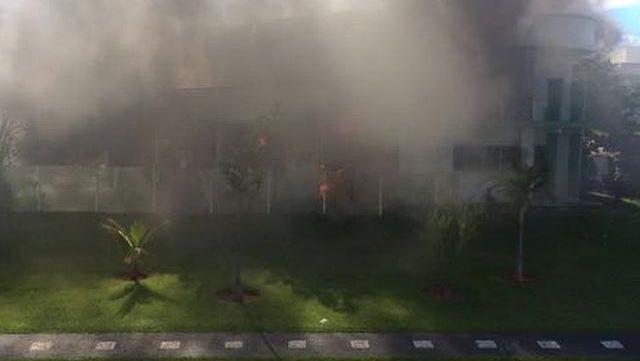 Incêndio assusta moradores de condomínio de luxo em Goiânia