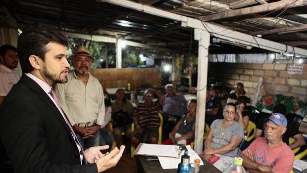 Moradores querem ver regularização fundiária incluída no Plano Diretor