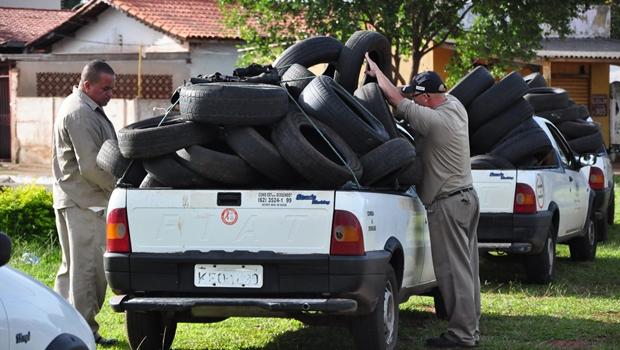 Vereador pede explicação da gestão Iris sobre destinação de pneus recolhidos na capital