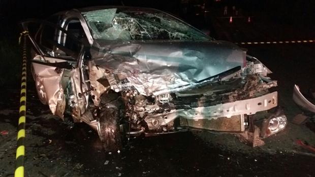 Três morrem em acidente na BR-153, em Goiás