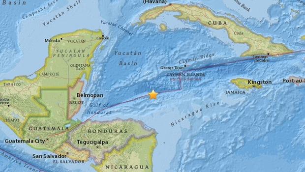 Forte terremoto atinge Honduras e Cuba, mas autoridades cancelam alerta de tsunami