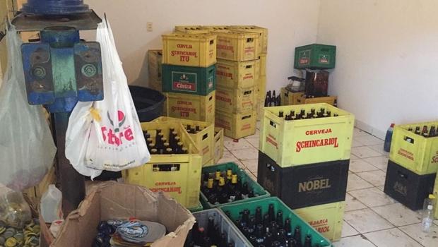 Polícia desarticula quadrilha que falsificava cervejas na Grande Goiânia