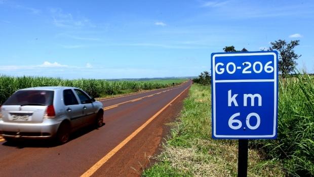 Governo de Goiás inaugura reconstrução da GO-206 entre Inaciolândia e Almerindonópolis