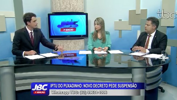 Novo jornalismo da TBC movimenta debate sobre IPTU da capital