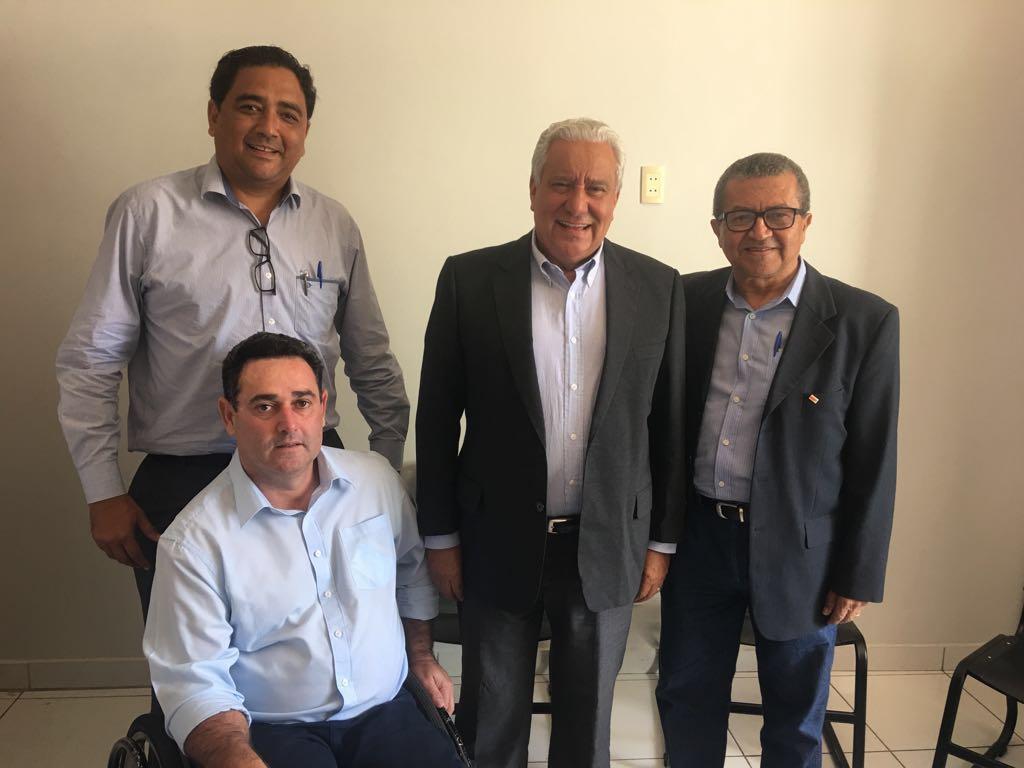 Vilmar Rocha intensifica agenda política para fortalecer o PSD