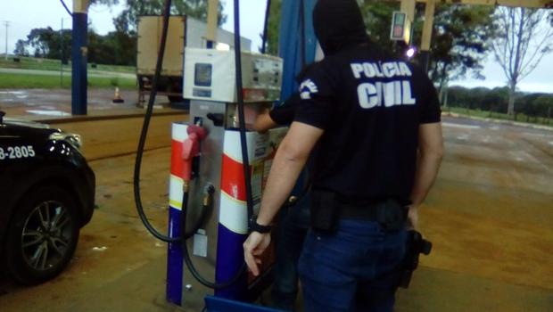 PF deflagra operação contra fraude na fiscalização de postos de combustíveis em Goiás