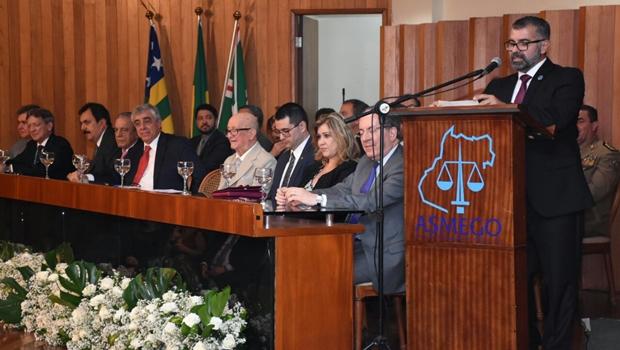Nova diretoria da Asmego toma posse em Goiânia