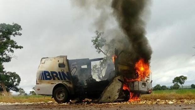 Polícia prende chefe de associação criminosa especialista em assaltar carros-forte