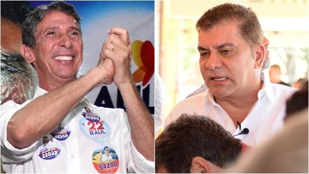 Em 5 anos, Amastha arrecadou mais  de 3 vezes que Raul em 2 mandatos