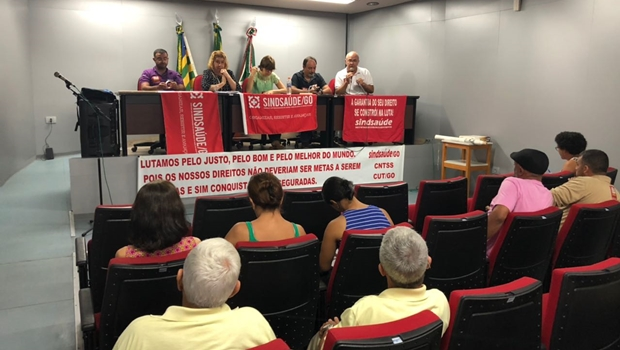 Servidores da Saúde decidem não deflagrar greve, mas cobram da gestão Iris
