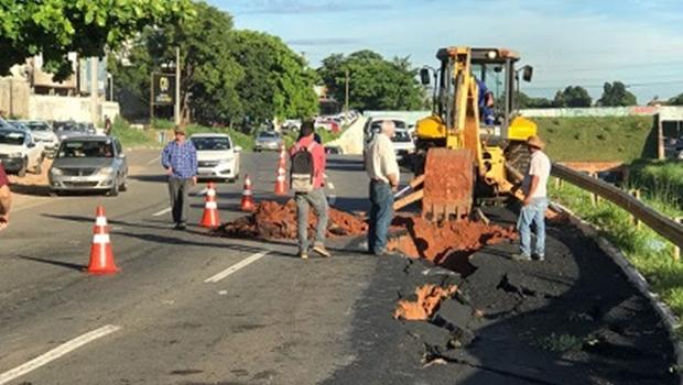 Prefeitura interdita mais um trecho da Marginal Botafogo