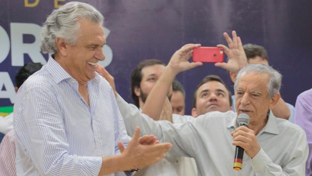 Ronaldo Caiado não seria candidato a governador se não tivesse o apoio de Iris Rezende