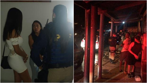 PRF flagra adolescentes em boates e motéis de Aparecida de Goiânia