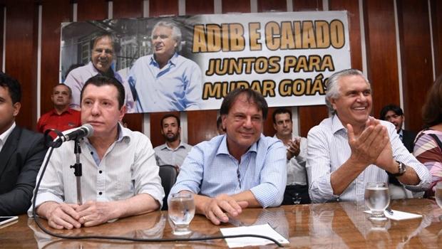 Apoio de prefeitos do MDB não rendeu um 1% nas pesquisas de intenção de voto para Caiado