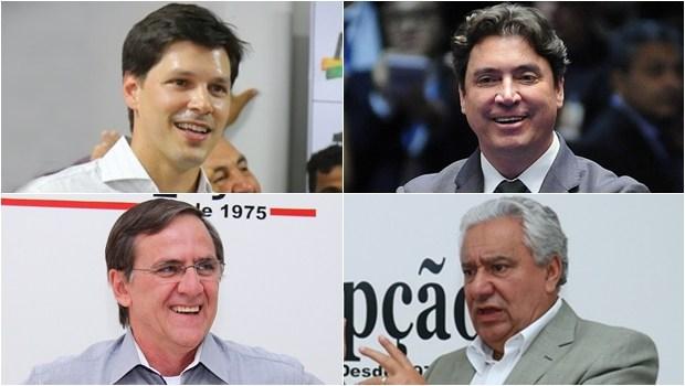 Daniel Vilela planeja compor chapa majoritária com Wilder Morais e Vilmar Rocha para o Senado