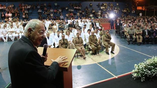 Primeira faculdade brasileira administrada pela Polícia Militar é inaugurada em Goiás