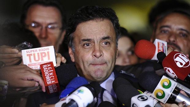 Após chegada de nova representação, reunião que trata destino de Aécio Neves é suspensa