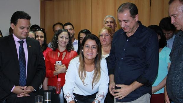 Aleandra Sousa despede-se da Secretaria de Assistência Social em Águas Lindas