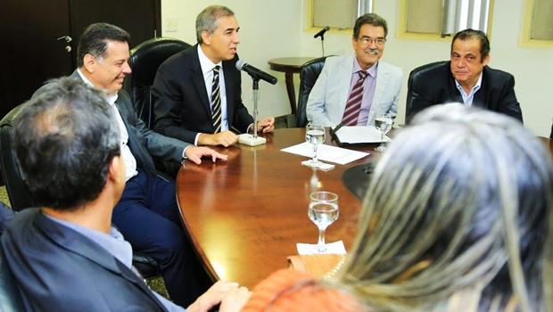 José Eliton discute avanços do Goiás na Frente com prefeitos da Região Norte
