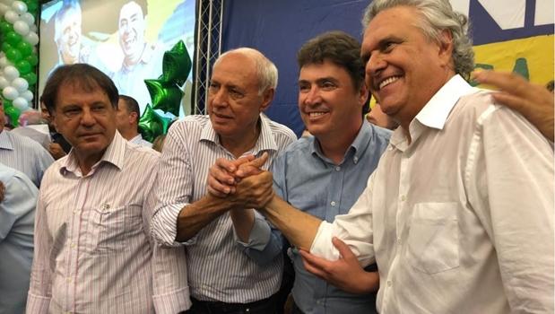 DEM recebe filiação de Wilder, Zacharias Calil, José Mário Schreiner e outros