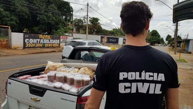 Polícia interdita empresa de alimentos saudáveis em Goiânia