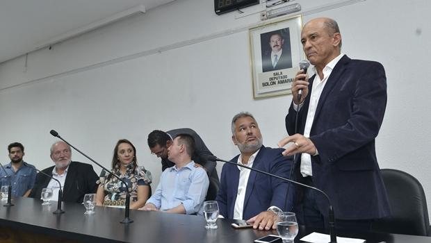 """Lívio Luciano """"lança"""" pré-candidatura à vice de Caiado sem a presença do democrata"""