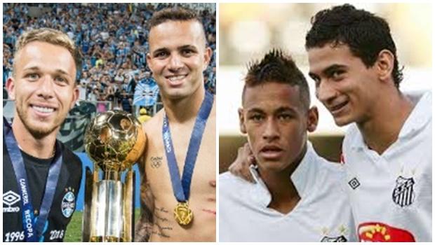De Neymar e Ganso a Luan e Arthur