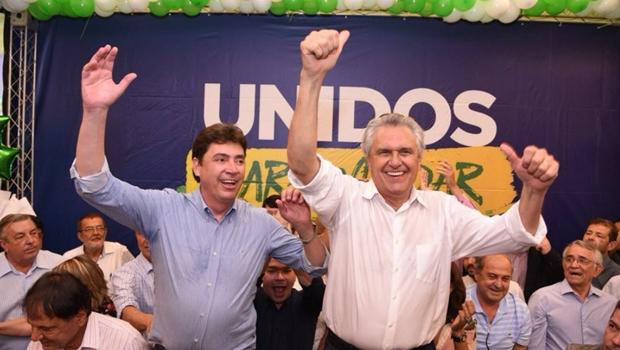 """Prefeitos """"aliados"""" não comparecem a filiação de Wilder Morais no DEM"""