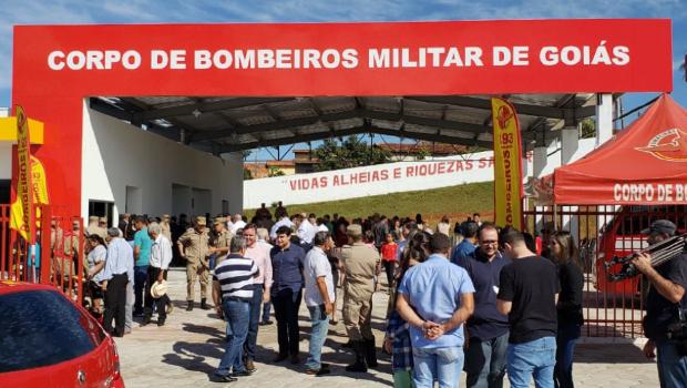 Nova sede do Corpo de Bombeiros é inaugurada em Nerópolis