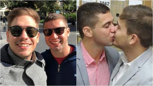 Repórteres da TV Globo Pedro Figueiredo e Erick Rianelli se casam