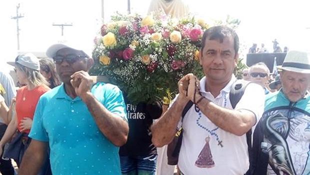 Vereador de Caldas Novas é atropelado em Hidrolândia durante romaria