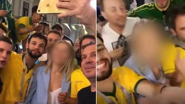 Ex-secretário do PSB e outros brasileiros assediam mulher russa na Copa e vídeo viraliza