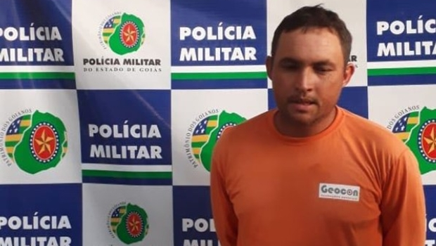 Preso homem que ameaçava matar policiais em Porangatu