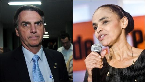 Sem Lula, Bolsonaro e Marina lideram corrida presidencial. Veja números