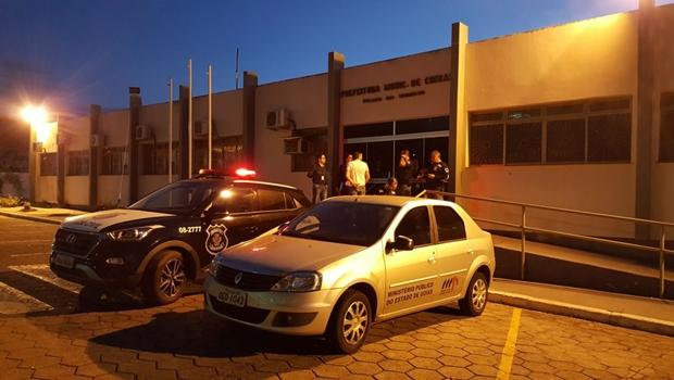MP deflagra operação para desarticular fraudes em compras da Prefeitura de Crixás