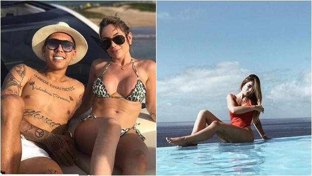 """Apelidada de""""diabinha"""" pela mídia internacional, esposa de Firmino faz sucesso nas redes"""