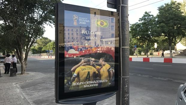 Rostov dá boas-vindas ao Brasil com Daniel Alves capitão da seleção brasileira