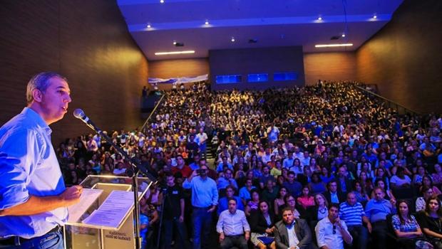 """Ao lançar UEG em Rede, José Eliton diz que """"é dever do Estado dar acesso à formação superior"""""""
