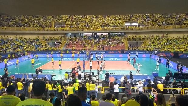 Em Goiânia, vôlei do Brasil alcança segunda vitória em cima do Japão