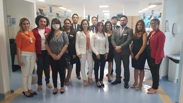 Comissão de Direito Médico e Sanitário da OAB visita Hugo