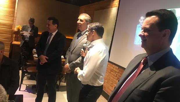 Em Brasília, Marconi se reúne com Kassab e Ciro Nogueira para discutir alianças
