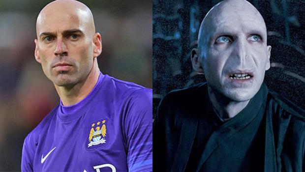 Jornal da Argentina compara o goleiro Caballero ao vilão Voldemort, de Harry Potter