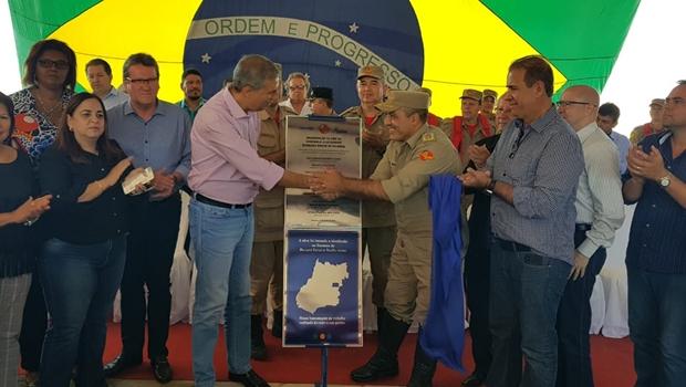 Governo inaugura novo quartel do Corpo de Bombeiros em Goianira