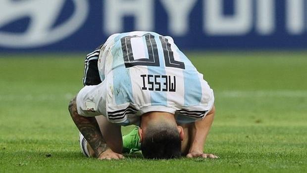 Argentina perde para a França e é eliminada nas oitavas de final da Copa